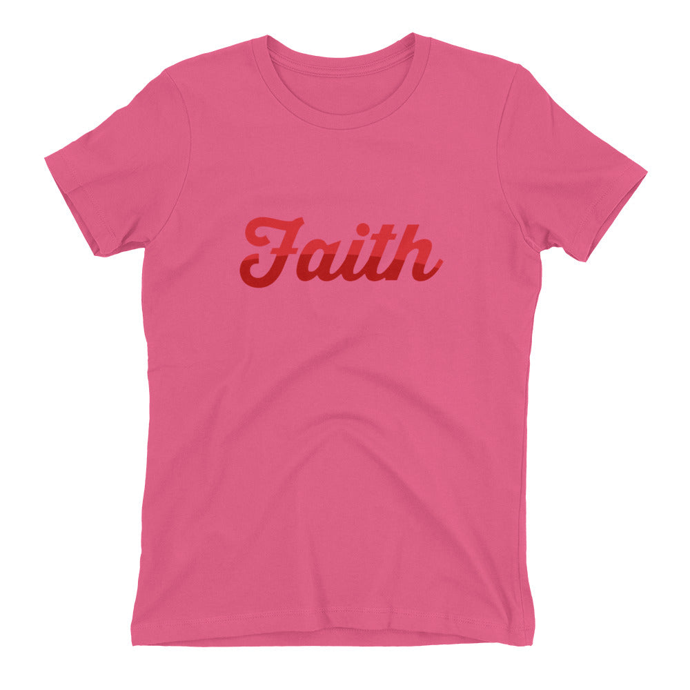 Faith Two Tone Women's t-shirt - Armor of God Apparel L.L.C.