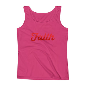 Ladies' Two Tone Faith Tank - Armor of God Apparel L.L.C.