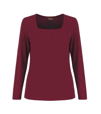 DOLCEZZA SQUARE NECK TOP