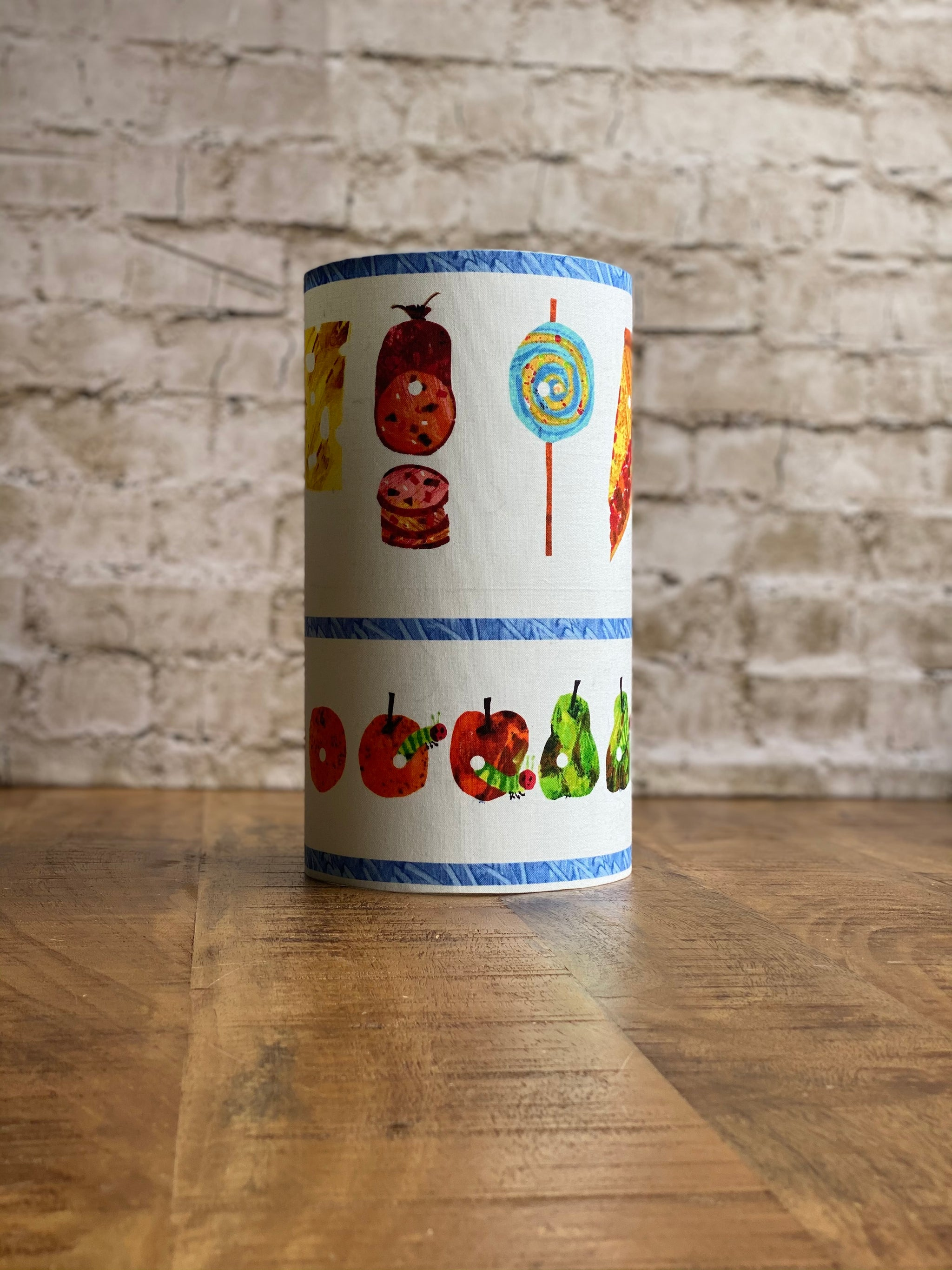 Hungry caterpillar food lampshade MINI