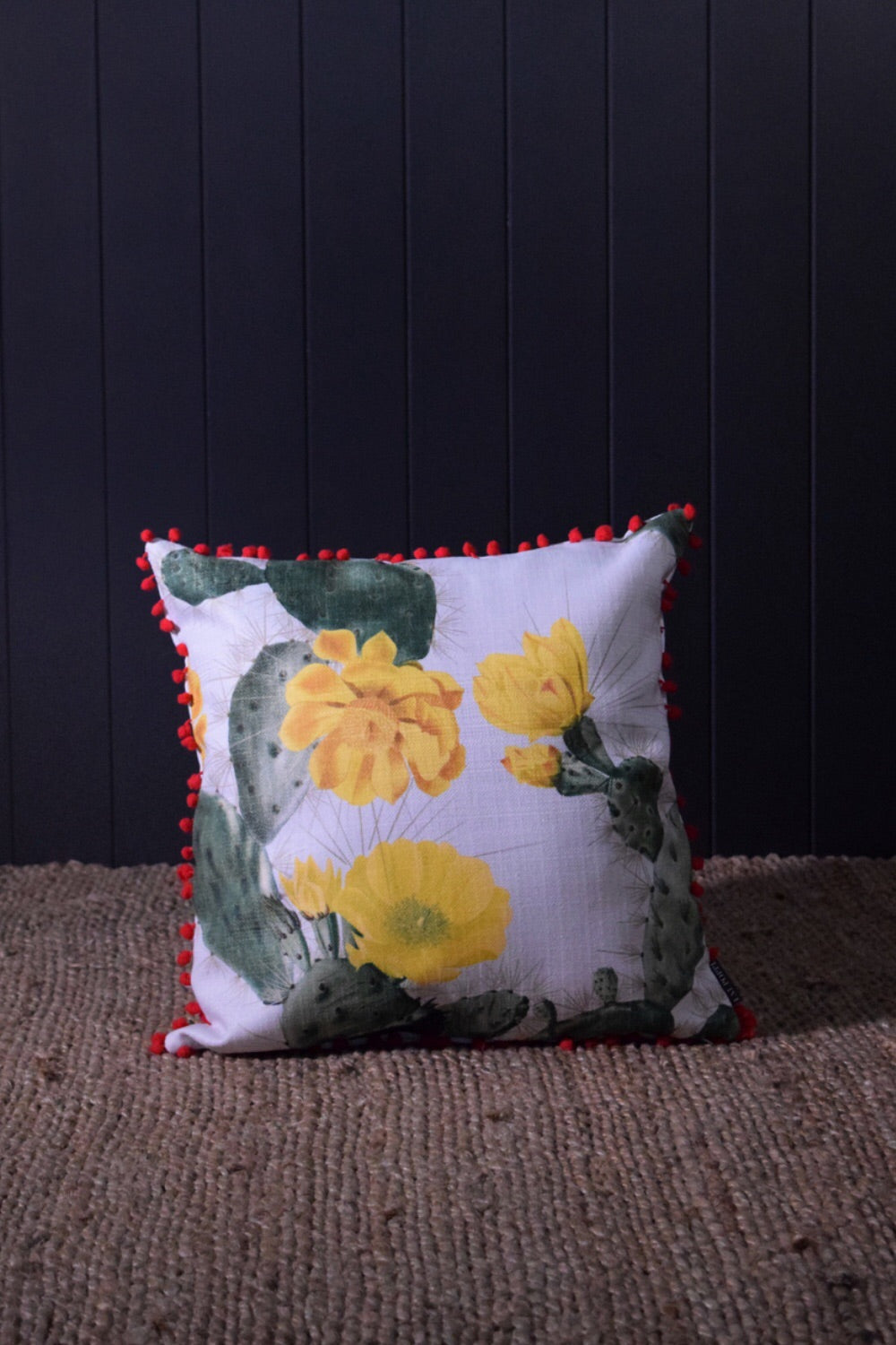 Cactus Throw Cushion