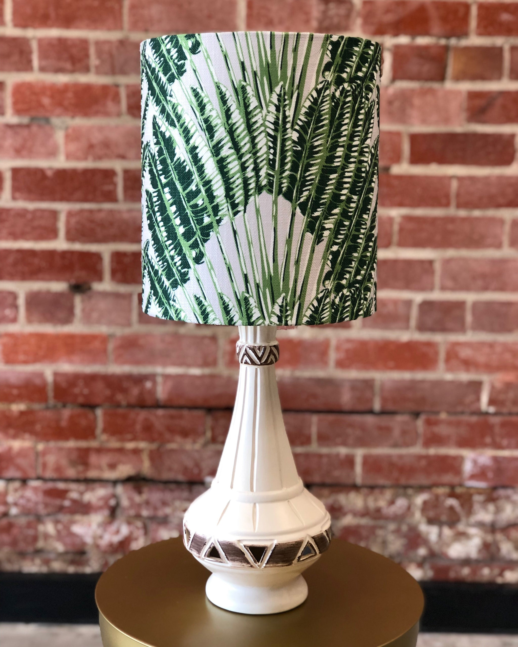 Jungle Fan Retro Lamp