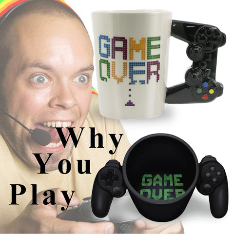 Image of Game Over Ceramic Mug