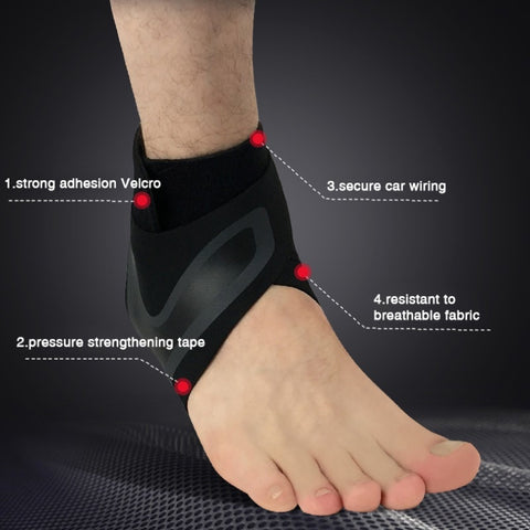 Image of Adjustable Ankle Support