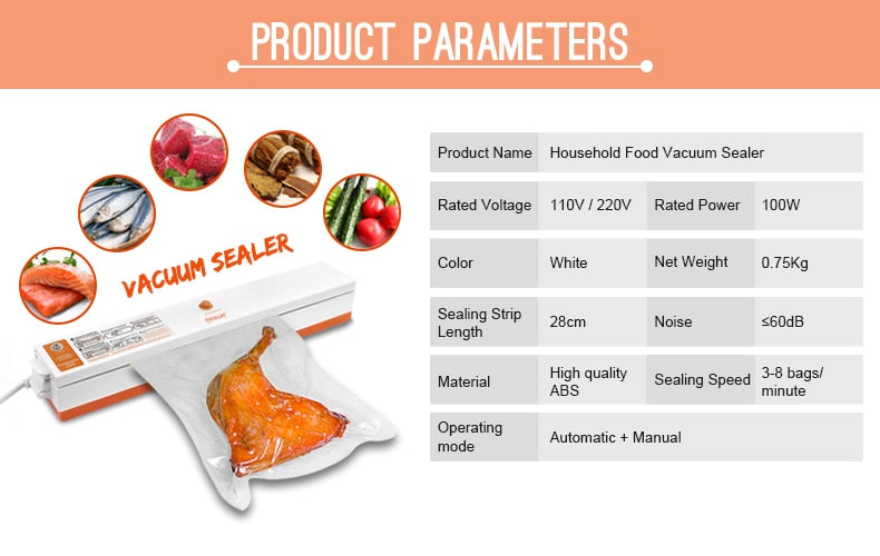 Amazing Food & Package Sealer