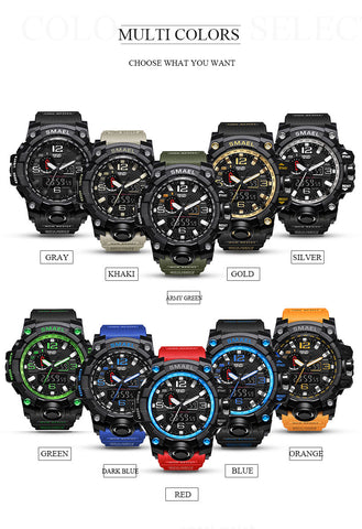 Image of 50m Waterproof Men Military Wristwatch