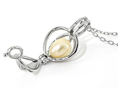 Image of Jewelry - Make A Wish Necklace With A Surprise Pearl (100% Real Natural Pearls)