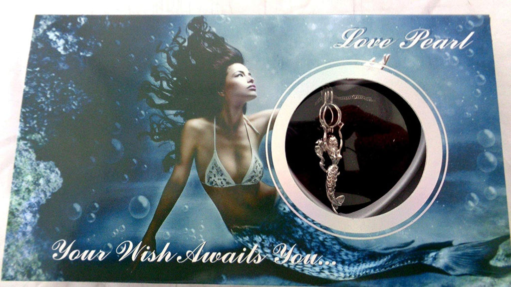 😍Make a wish Necklace with a Surprise Pearl (100% real natural pearls)😍