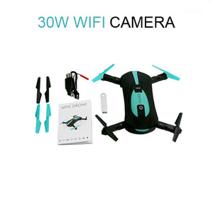 Pocket Selfie Drone WiFi FPV HD Camera 720P Phone Control