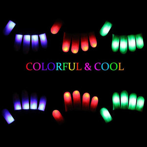 LED Finger Gloves