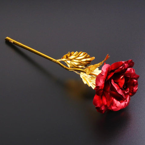 Image of 24K Gold Dipped Forever Rose