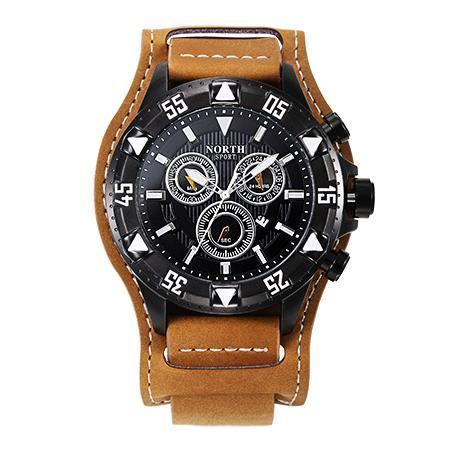 Image of NORTH Luxury Leather Quartz Watches