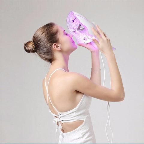Image of Winter Led Mask 7 Colors LED Facial Mask - Your At-home Skin Photon Therapy