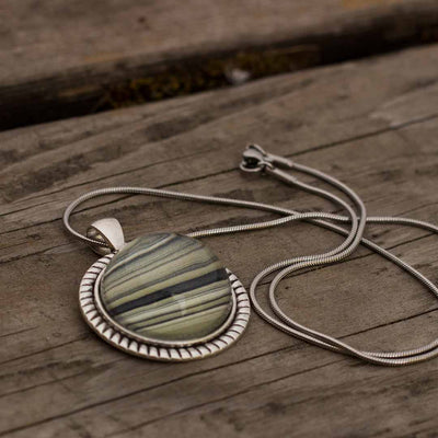 Rings of Saturn Necklace