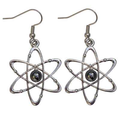 Atomic Science Earrings
