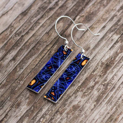 Particle Physics Earrings
