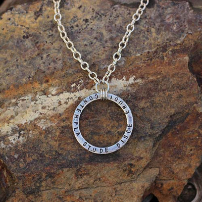 Knowledge Cycle Necklace