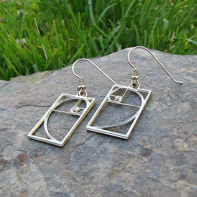 Fibonacci Earrings