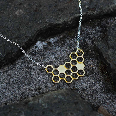 Honeycomb Necklace