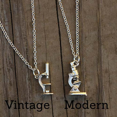 Microscope Necklace