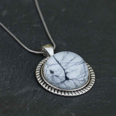 Neuron Under Glass Necklace