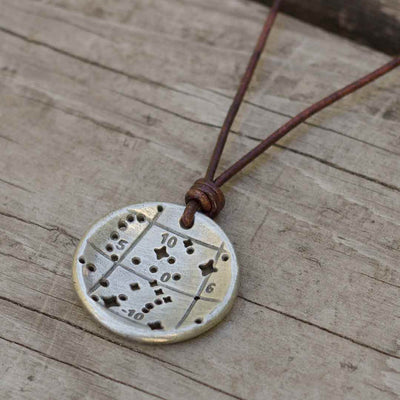 Orion Constellation Necklace - Old