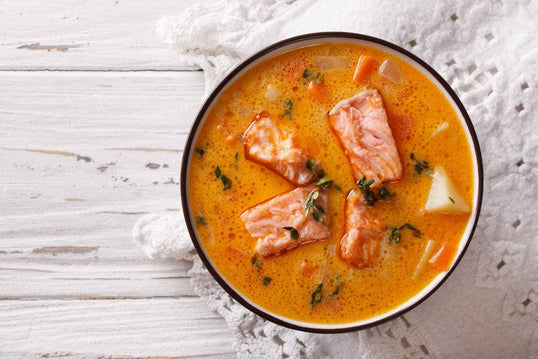 Salmon Broth Soup