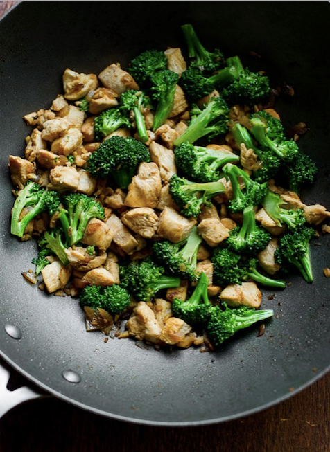 Deluxe Chicken Breast & Broccoli Stir <small>  Keto & Paleo Meal </small>