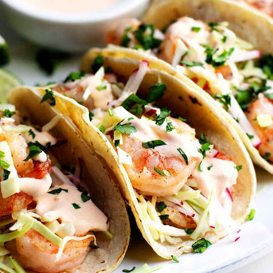 ChefMade Shrimp Tacos <small> Lean Gain Diet </small>