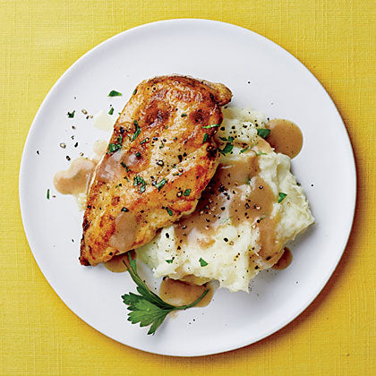 GRILLED CHICKEN BREAST WITH SWEET POTATO MASH