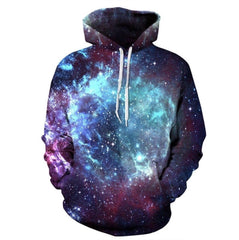 Galaxy Space Pullover Hoodie
