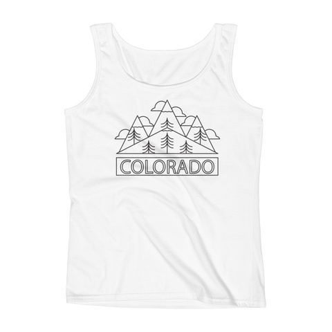 Ladies Colorado Tank