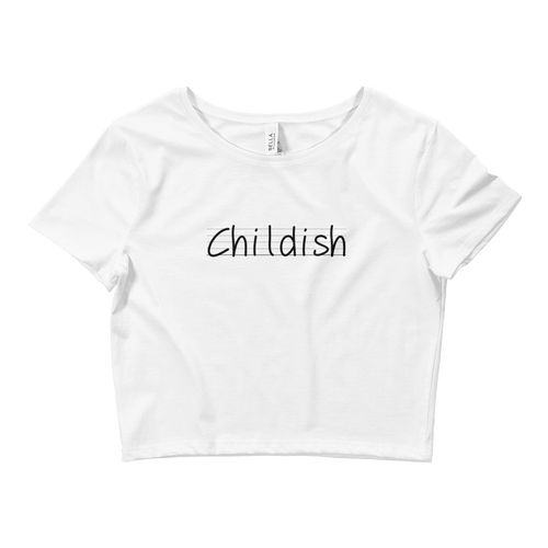 Childish Crop Top