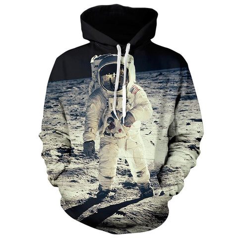 Astronaut Pullover Hoodie