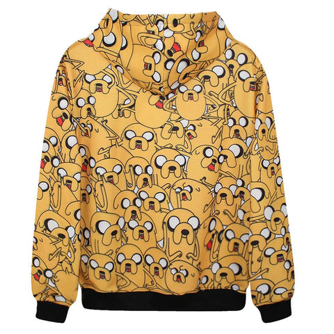 Jake the Dog Pullover Hoodie