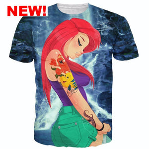 The Little Mermaid Hipster T-Shirt