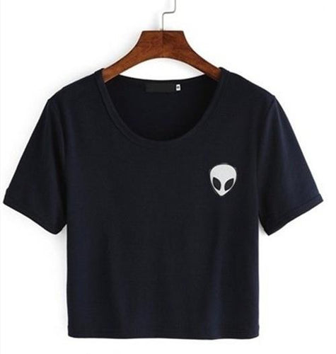Alien Pocket T-Shirt - Navy Blue
