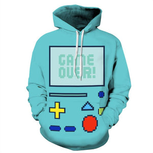 Beemo 'GAME OVER' Pullover Hoodie
