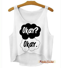 Fault In Our Stars Crop Top