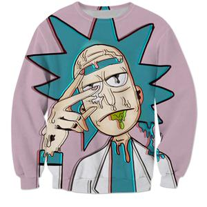 Rick and Morty 3D Trippy Sweatshirt