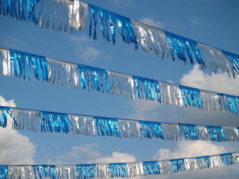 Car Lot Metallic Streamers Flags And Pennants Strings Us Auto