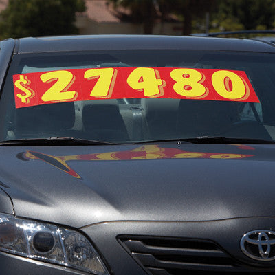 Windshield pricing numbers