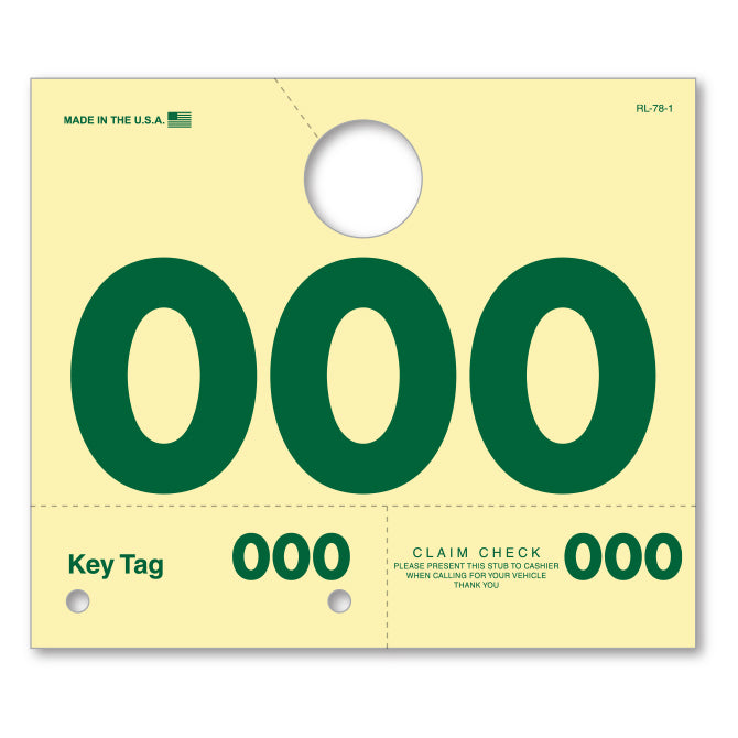 Car Service Mirror Tags | US Auto Supplies