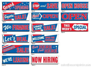 Car Lot Banners | US Auto Supplies