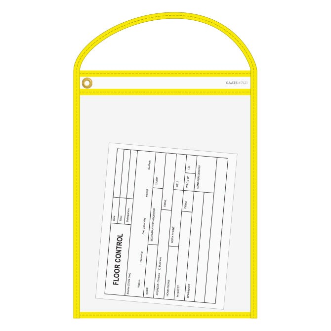 Yellow Repair Order Holder | US Auto Supplies