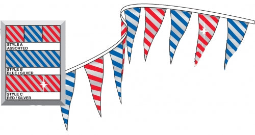 Metallic Pennants | US Auto Supplies
