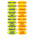 Car Dealership Stickers | US Auto Supplies