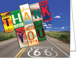 Thank You Cards & Envelopes (50/Pack)