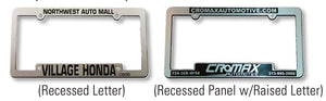 Car Dealer License Plate Frames | US Auto Supplies