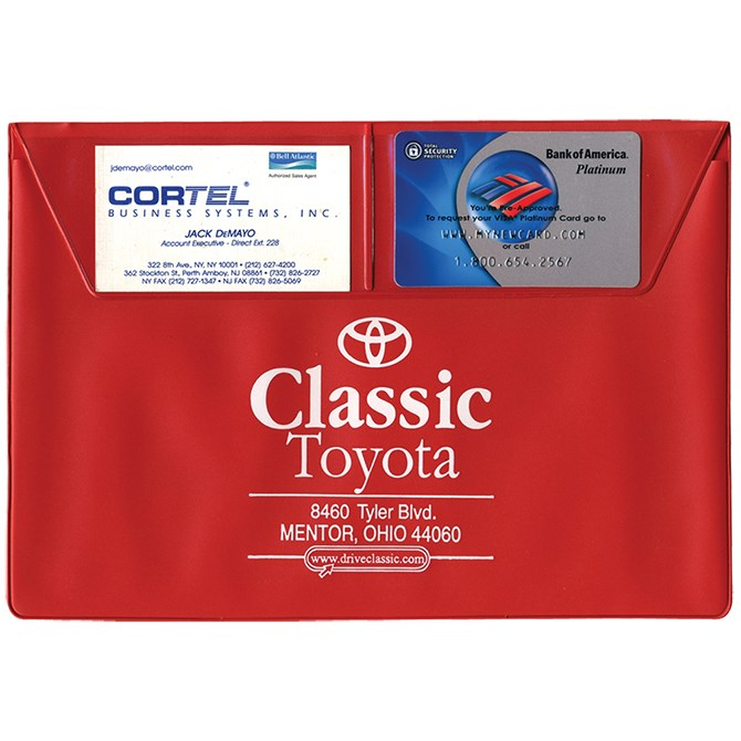 Vehicle Document Wallets | US Auto Supplies